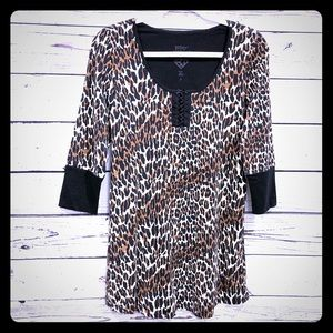 Betsey Johnson Animal Print Pajamas Nightie